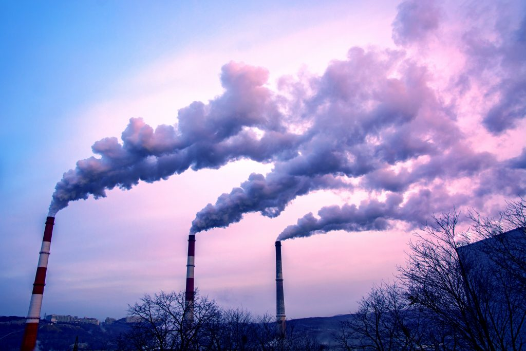 Harmful, climate-changing greenhouse gases