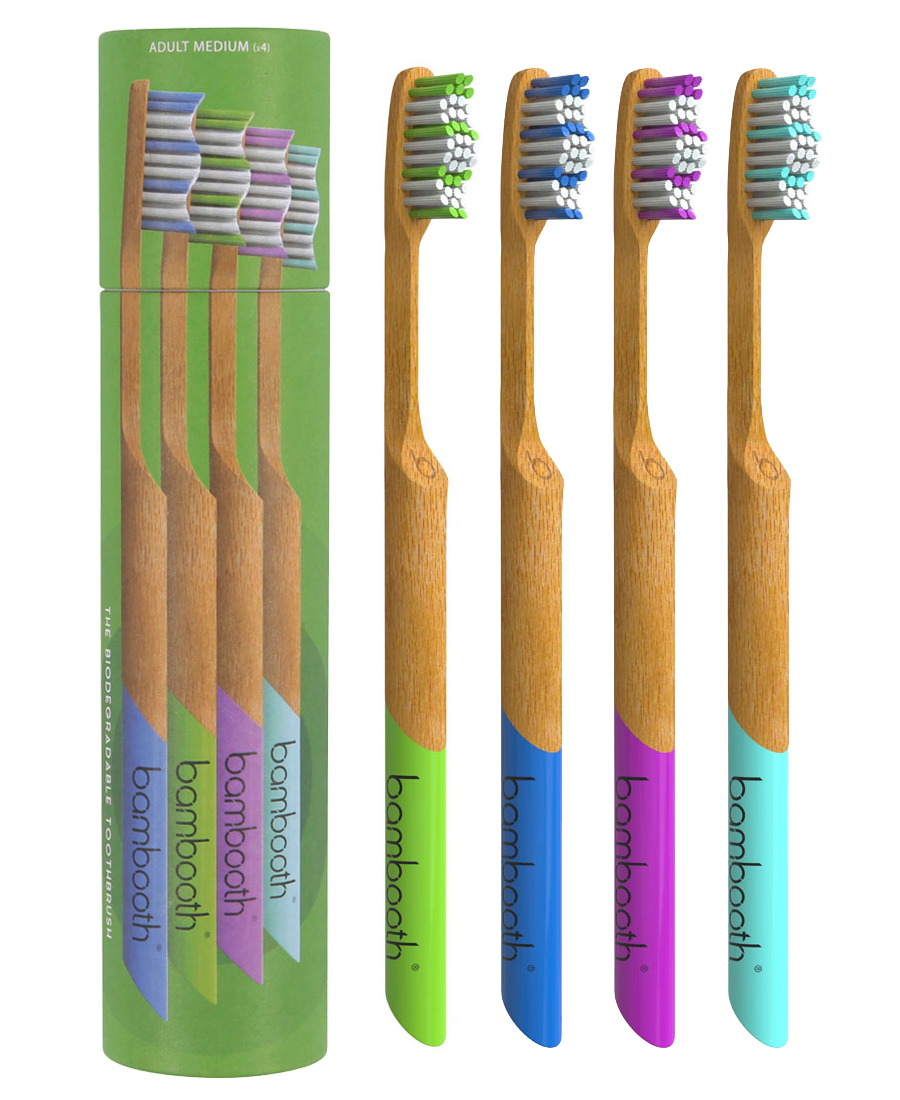 Bamboo Toothbrush Multipack